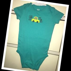 Carter's One Pieces - 👶🏼3/$10👶🏼carters baby boy 6m onesie🧸EUC🧸